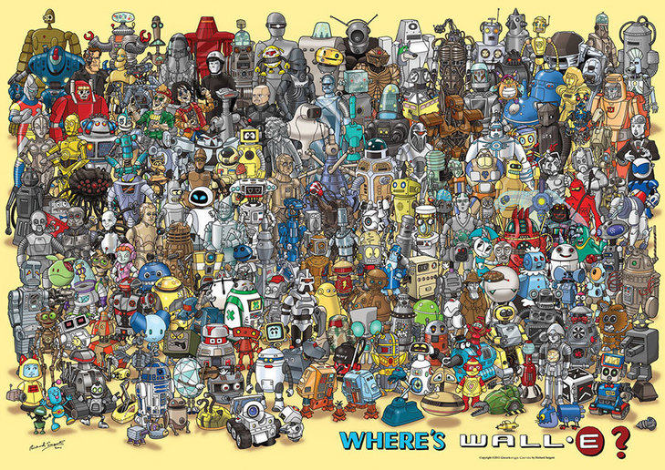 Pop culture's greatest robots (by Sargent R. 2012)